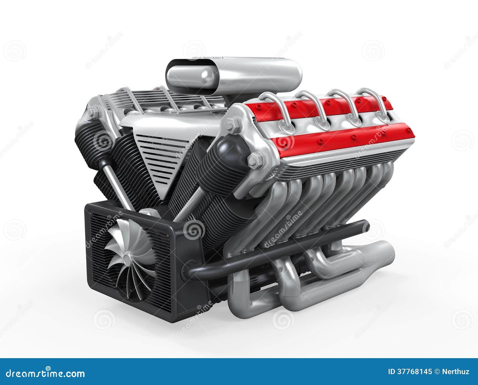 Motor de automóveis de V8
