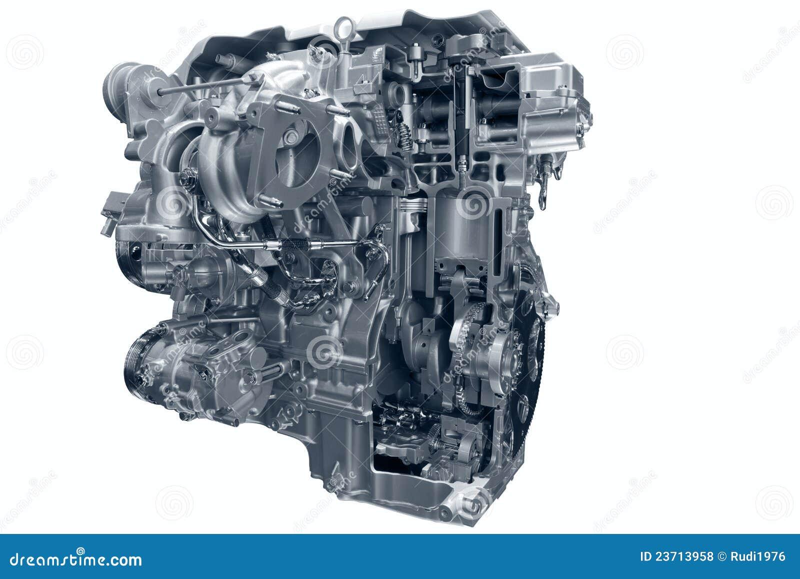 Motor de gás do carro.