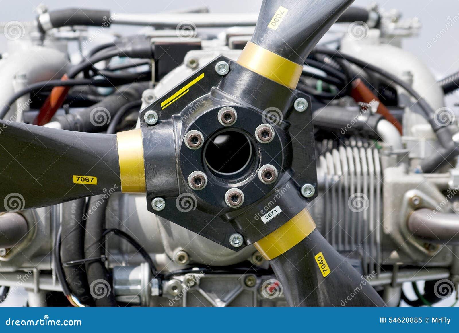Motor opuesto aviacion