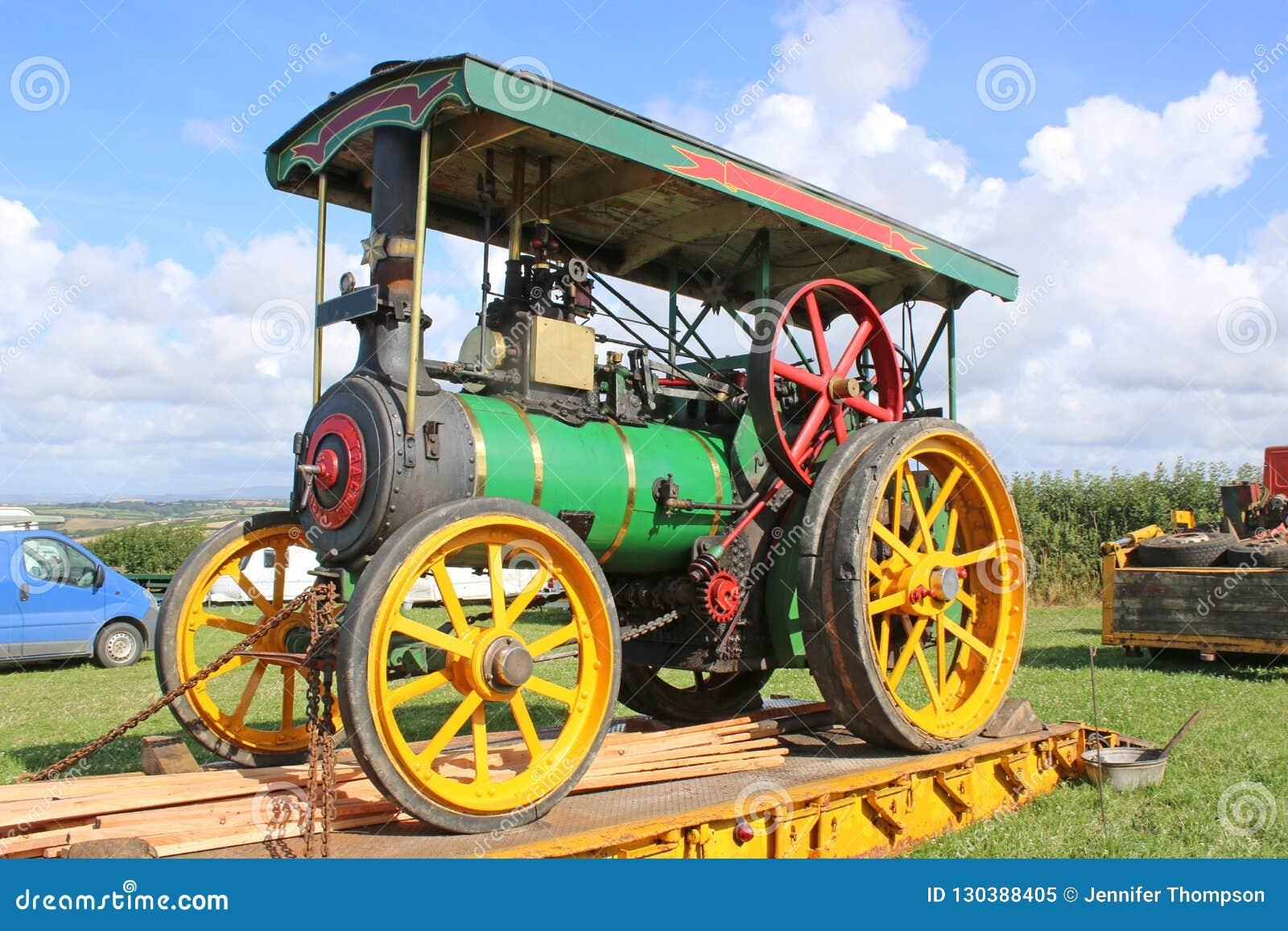 Motor de tracción del vapor