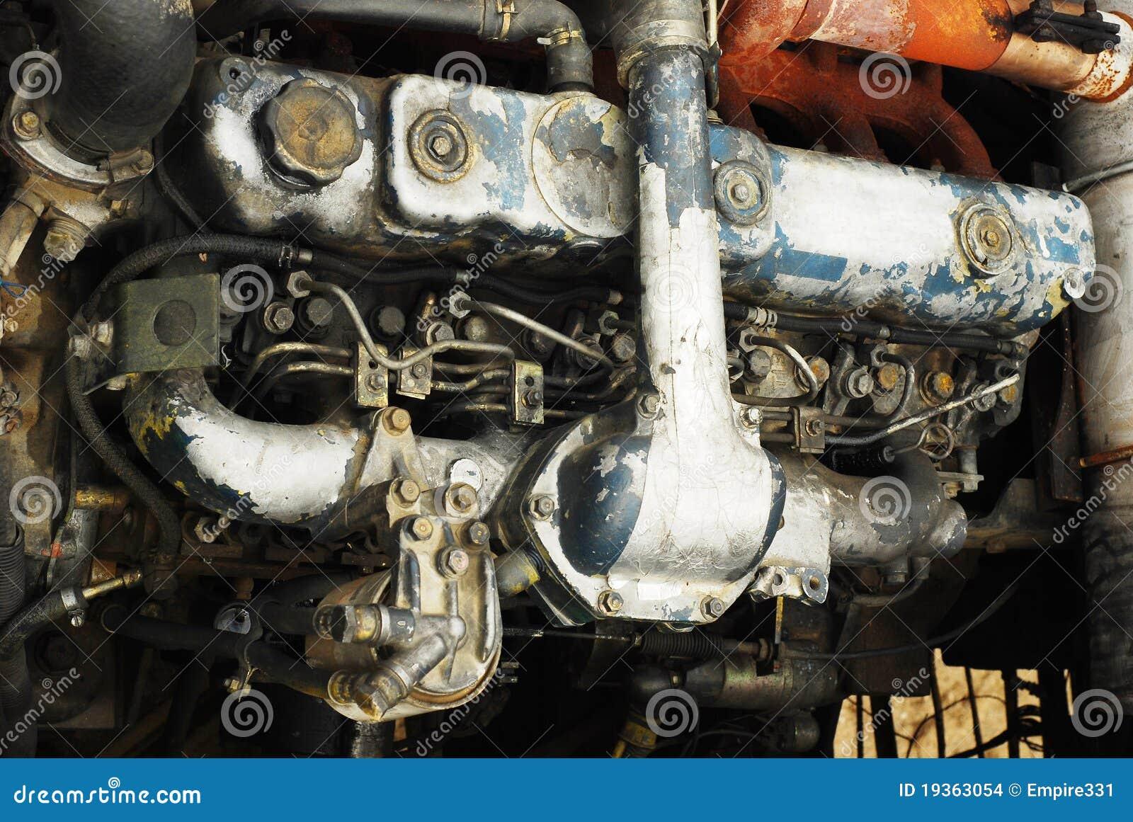 Motor de trator