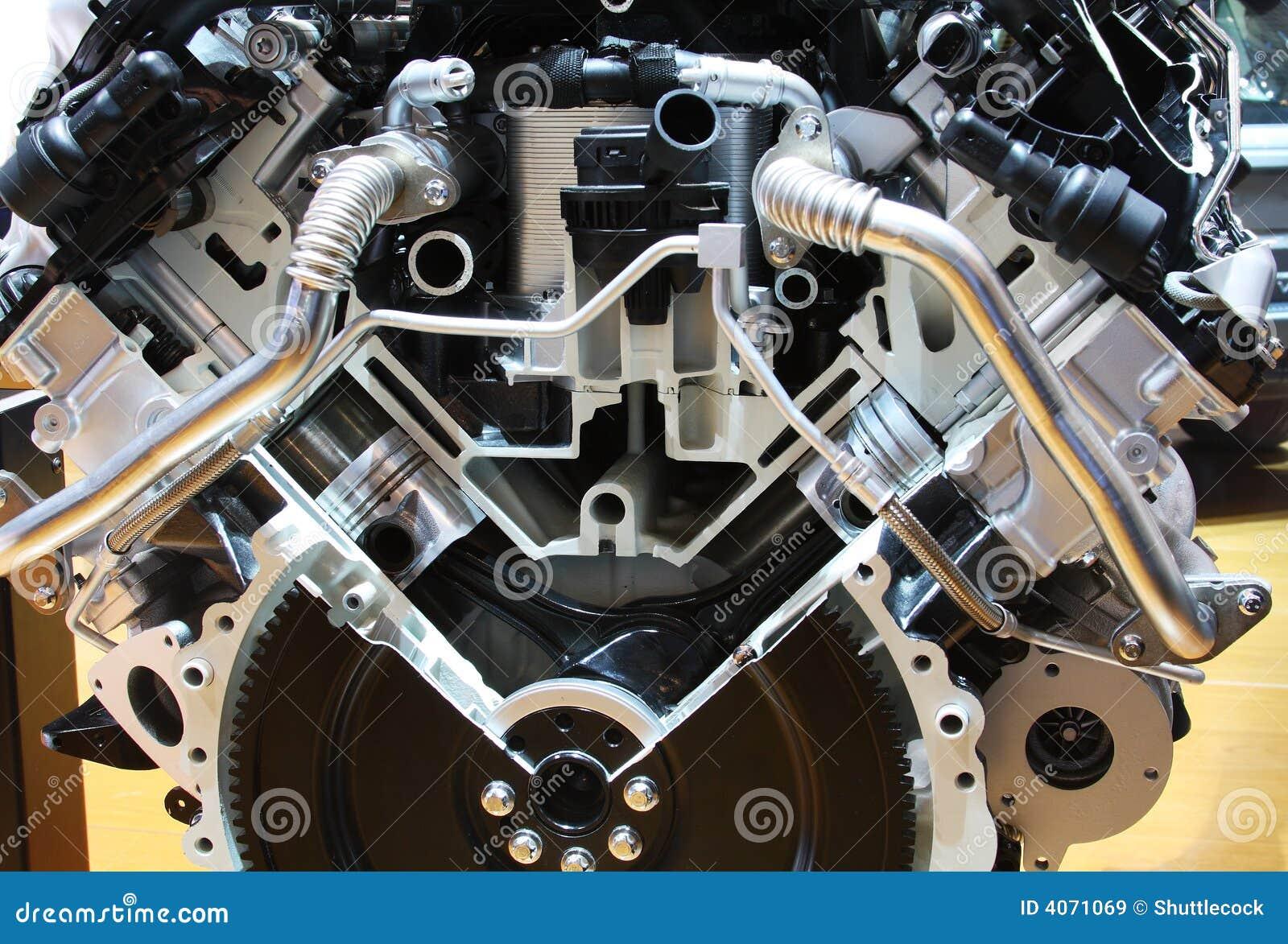 Motor del híbrido de la tecnología