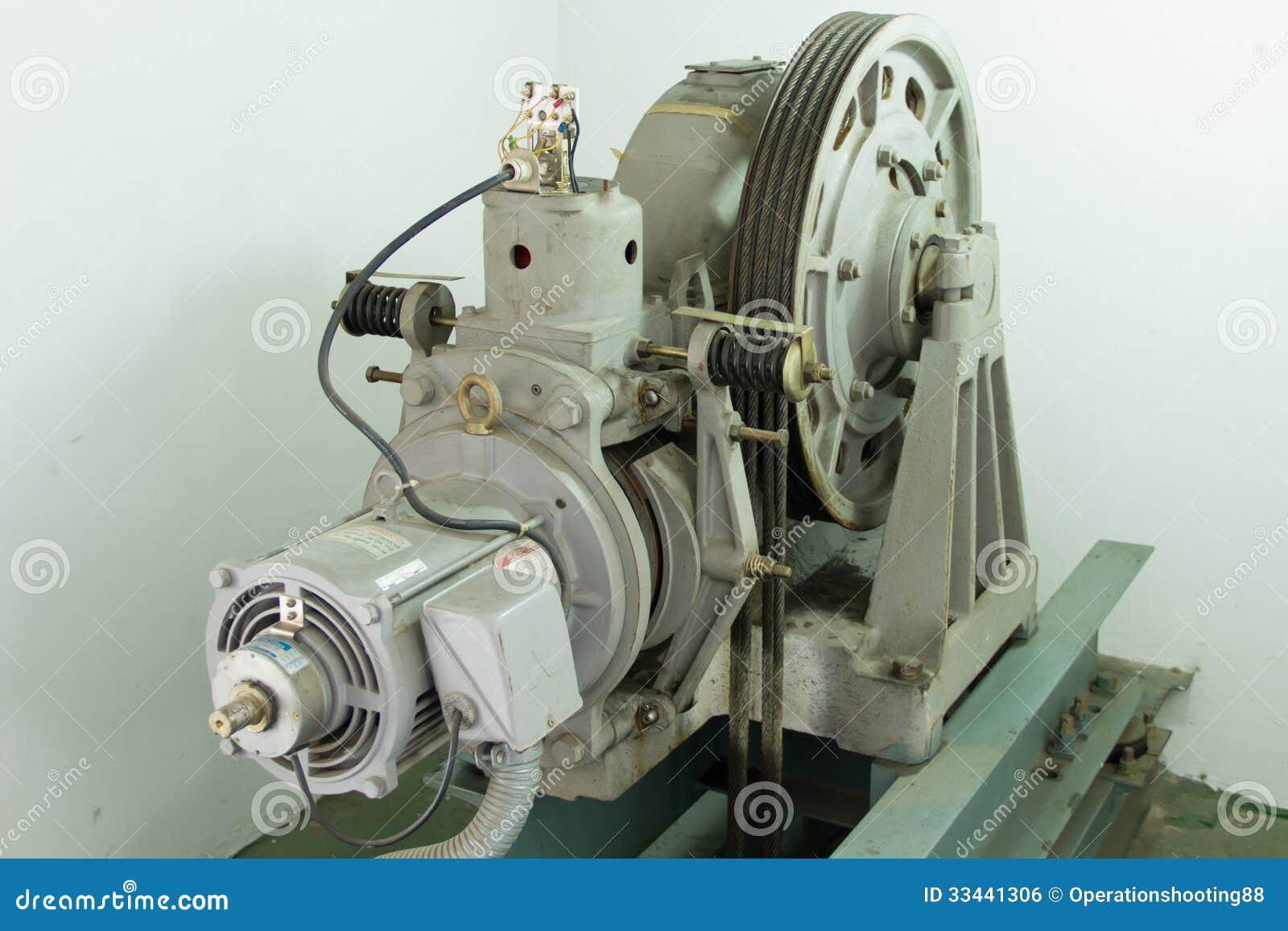 Motor Driven Elevator Royalty Free Stock Image Image