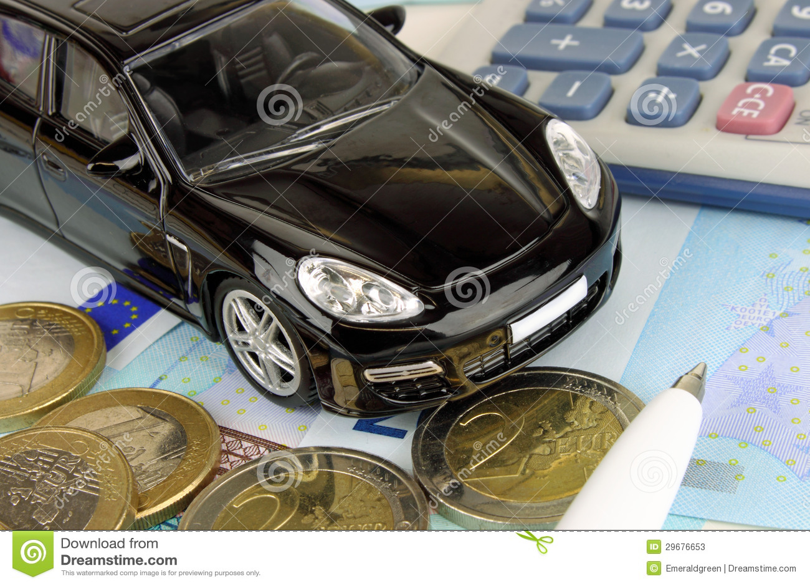 Motor Finance Stock Photos Image 29676653