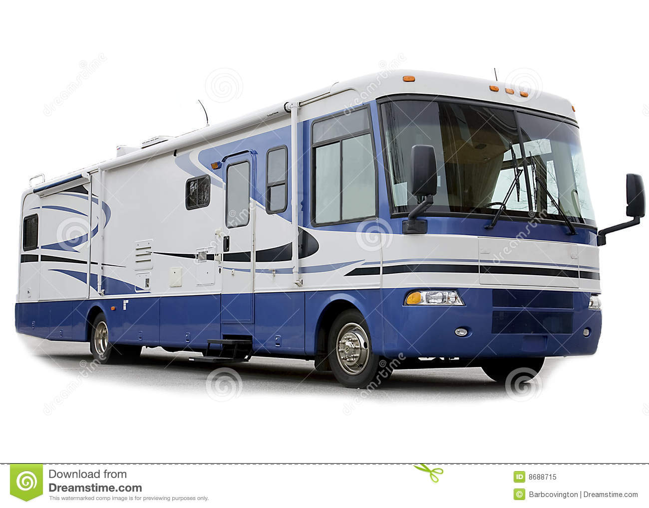 Motor Home Rv Royalty Free Stock Photo Image 8688715