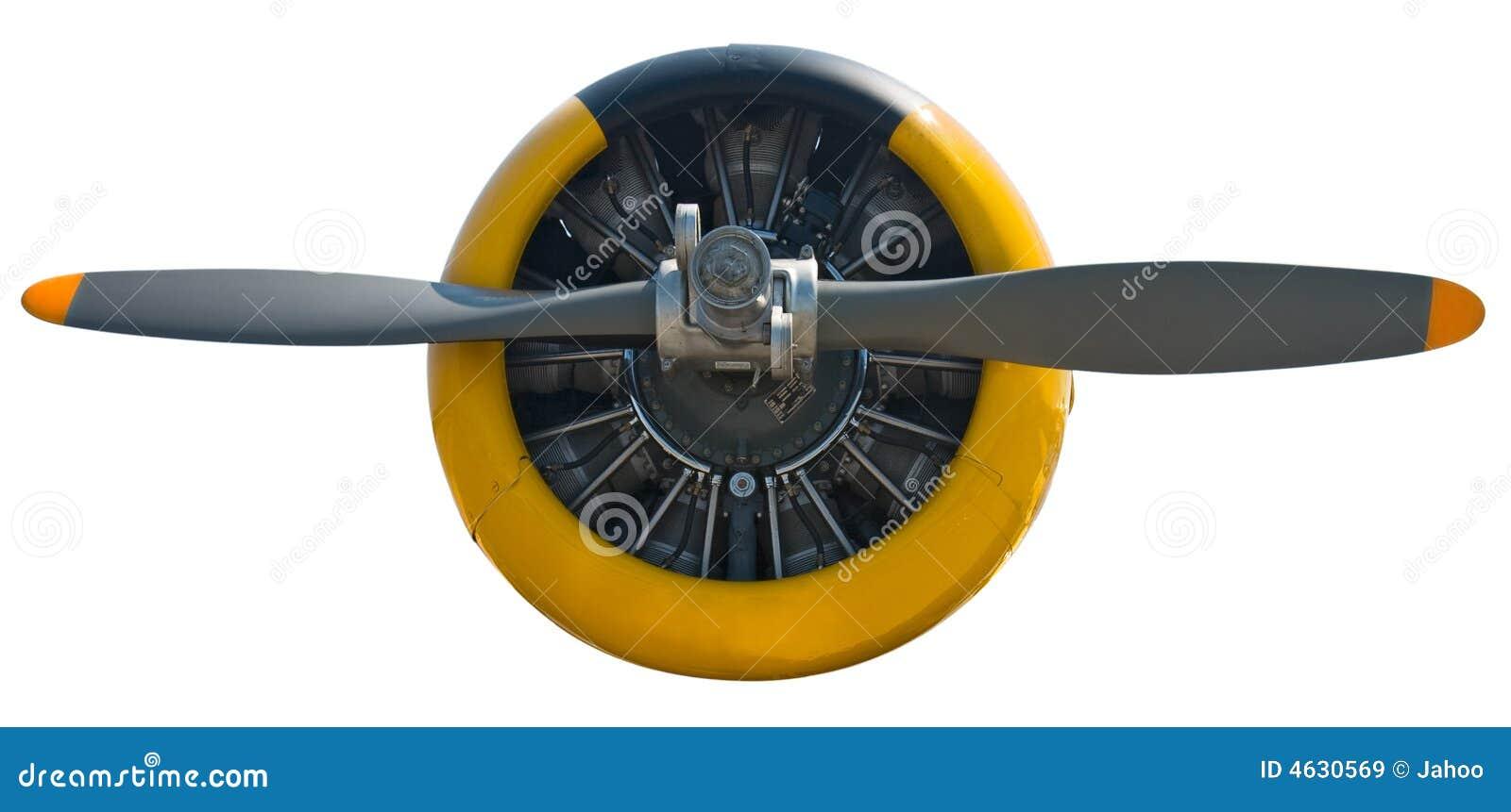 Motor radial & suporte isolados