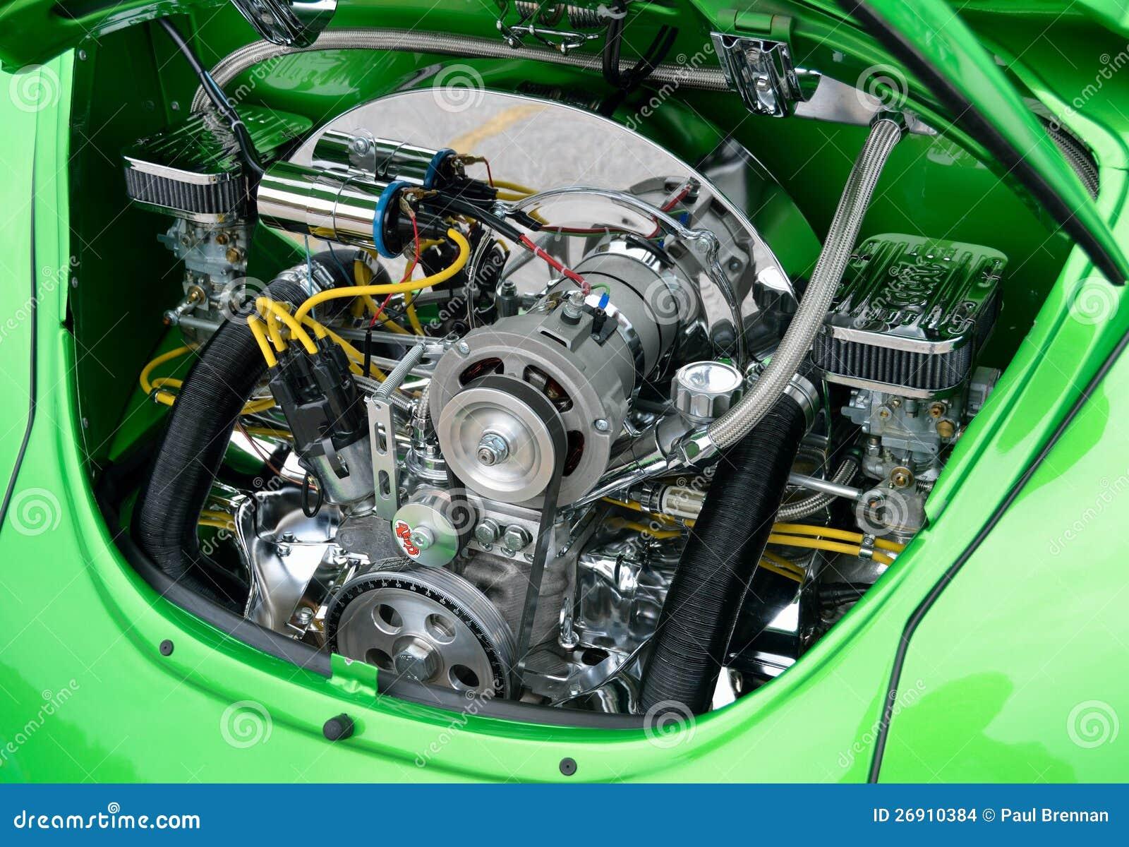 motor restablecido del escarabajo de volkswagen imagen de On motor volkswagen escarabajo
