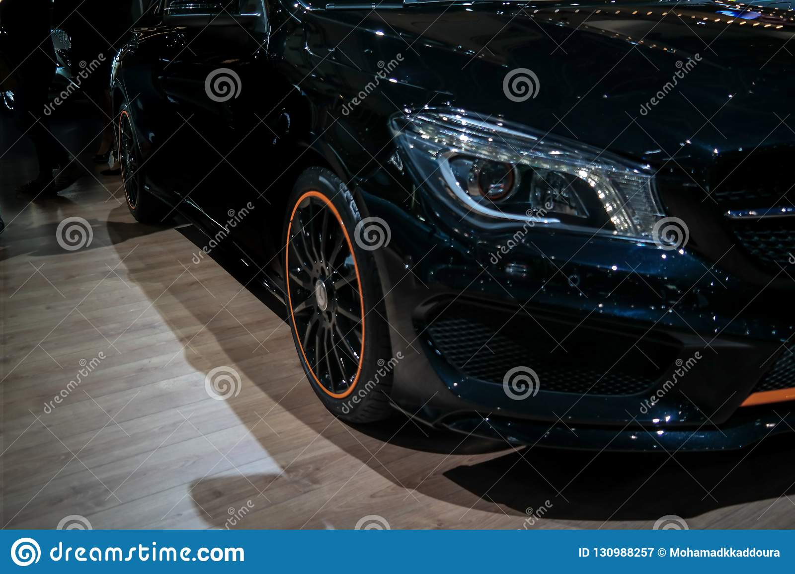 Motor Show Mercedes Benz Corner Displaying Their Epic New Cars S Class Amg Editorial Photography Image Of Model Design 130988257