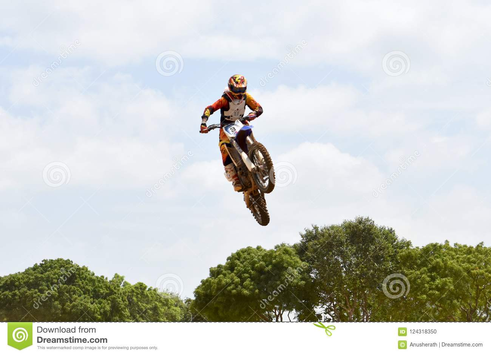 motocross drivers silhouette vector illustration vector