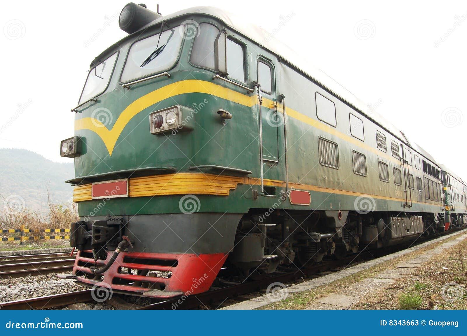 Motor train stock image  Image of iron, goods, power, transport