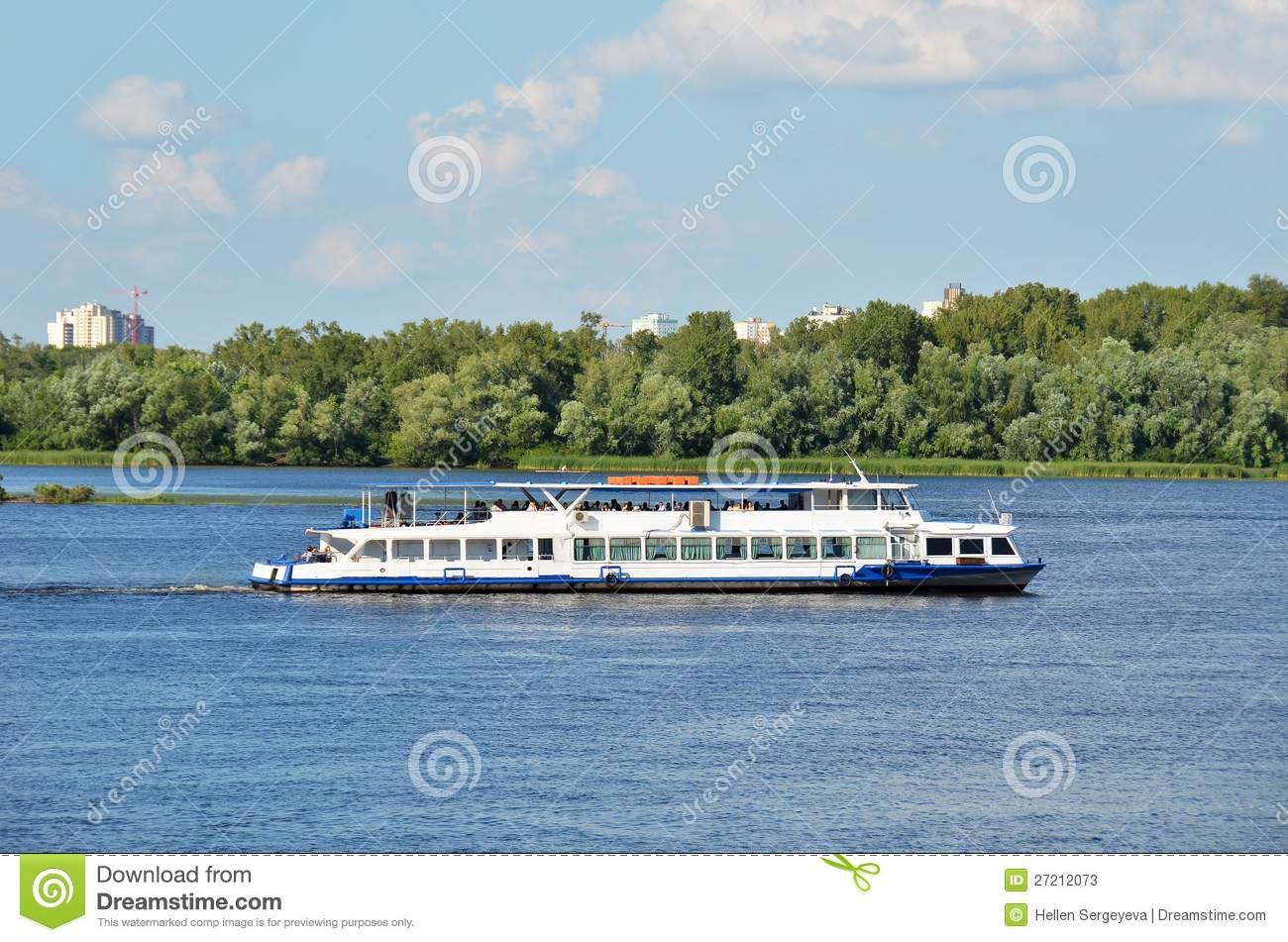 Stock photos motor travel river ship