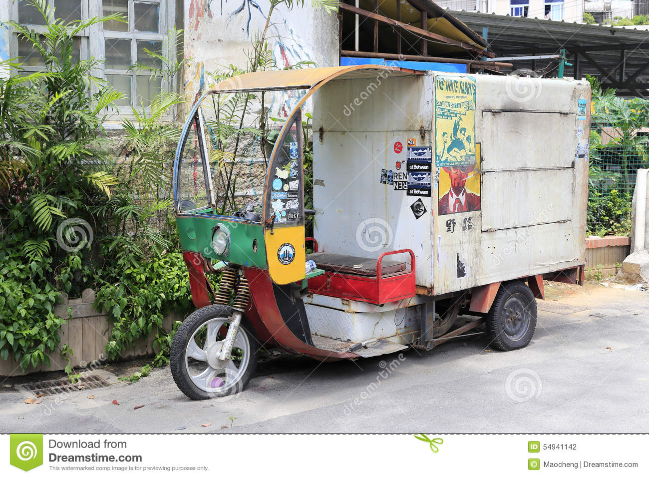 Motor Tricycle Truck Sales In Shapowei Sheltered Dock, Amoy City ...