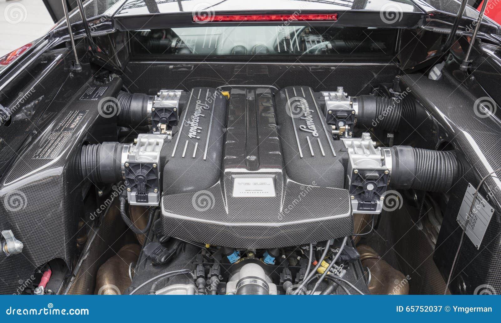 Motor V12 av Lamborghini Murcielago