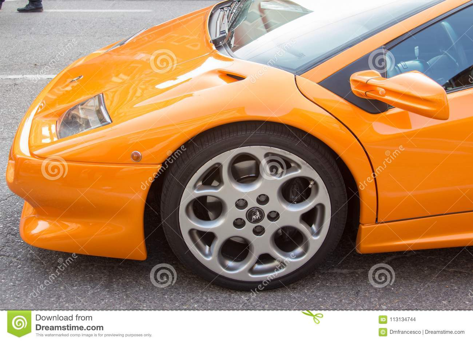 Super Sport Cars Maranello Italy Editorial Stock Image Image Of