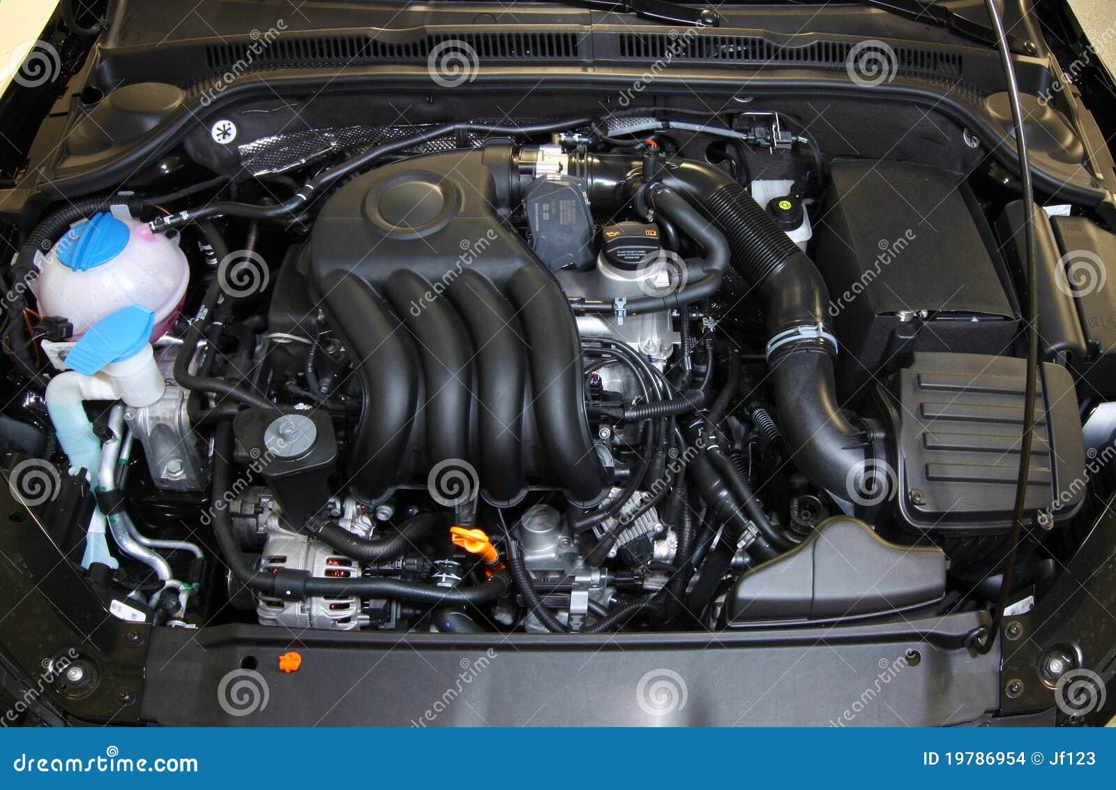 Motor Van Een Auto Stock Afbeeldingen Beeld 19786954