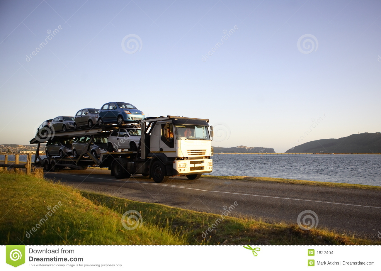 Motor Vehicle Carrier Stock Images Image 1822404