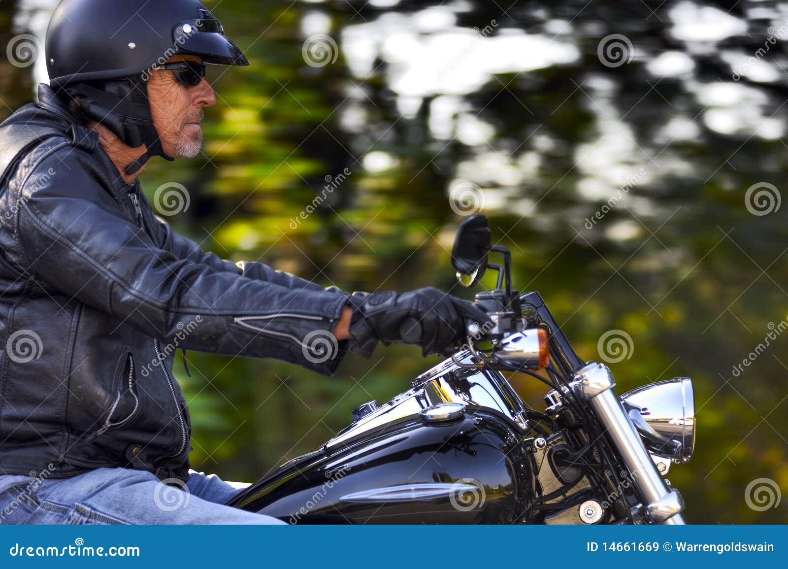 Motorbike Man Has Freedom Royalty Free Stock Images ...