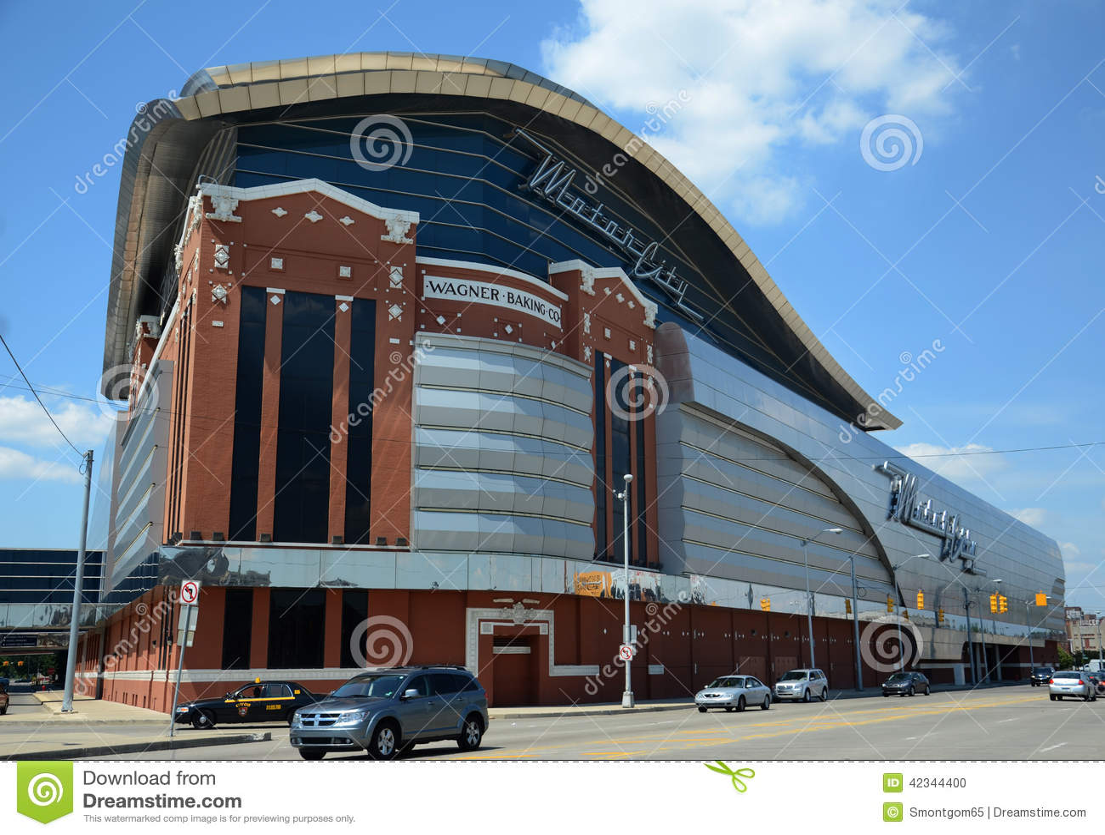 Motorcity Casino In Detroit Mi Editorial Image Image