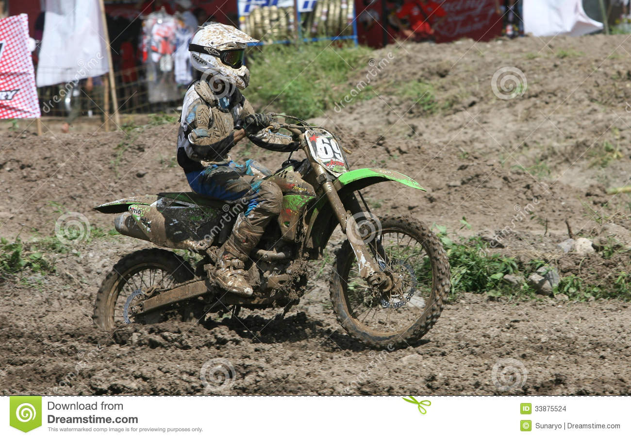 Motorcross Editorial Stock Image Image Of Trail Solo 33875524
