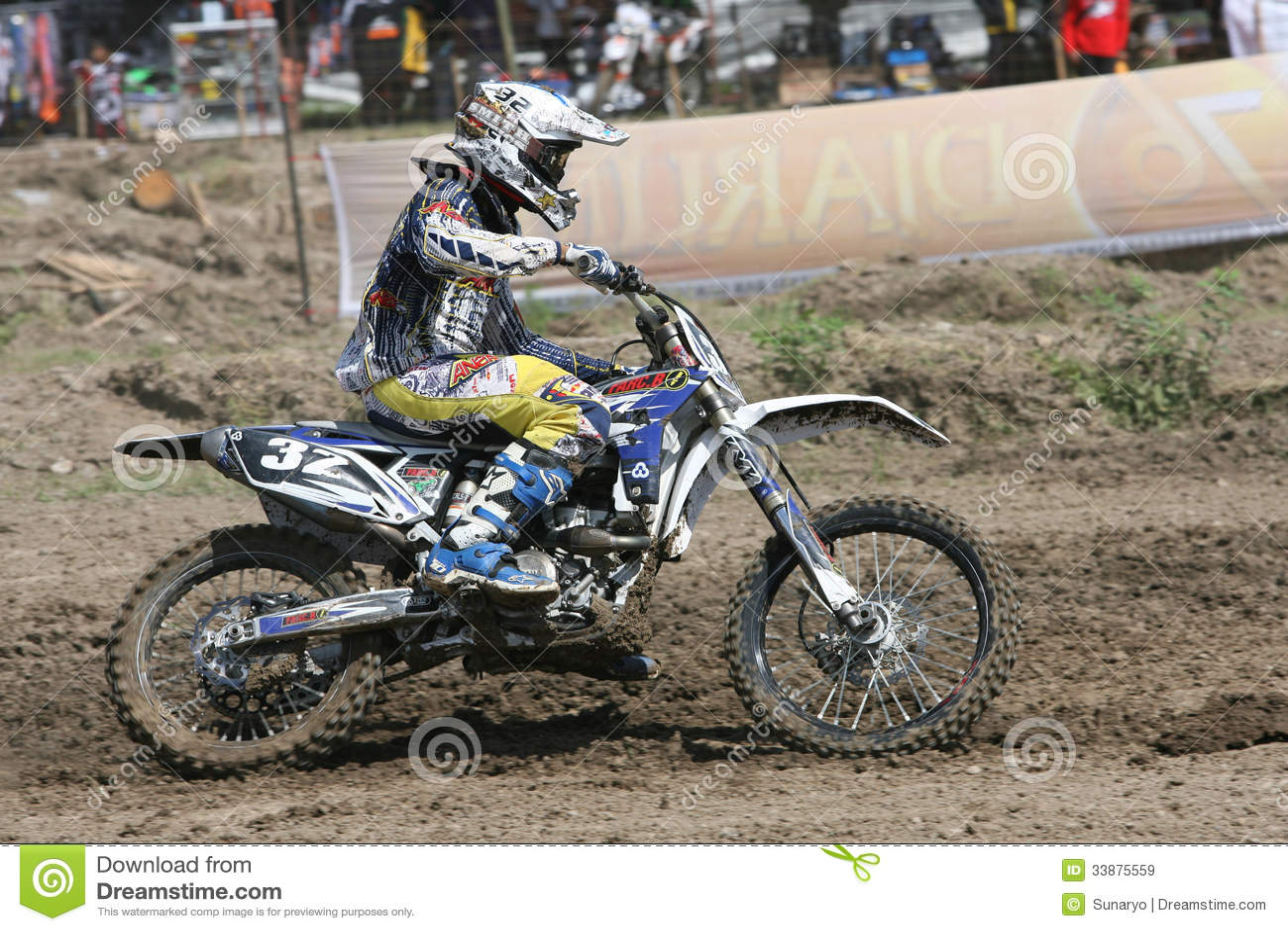 Motorcross Editorial Stock Image Image Of Racer Race 33875559