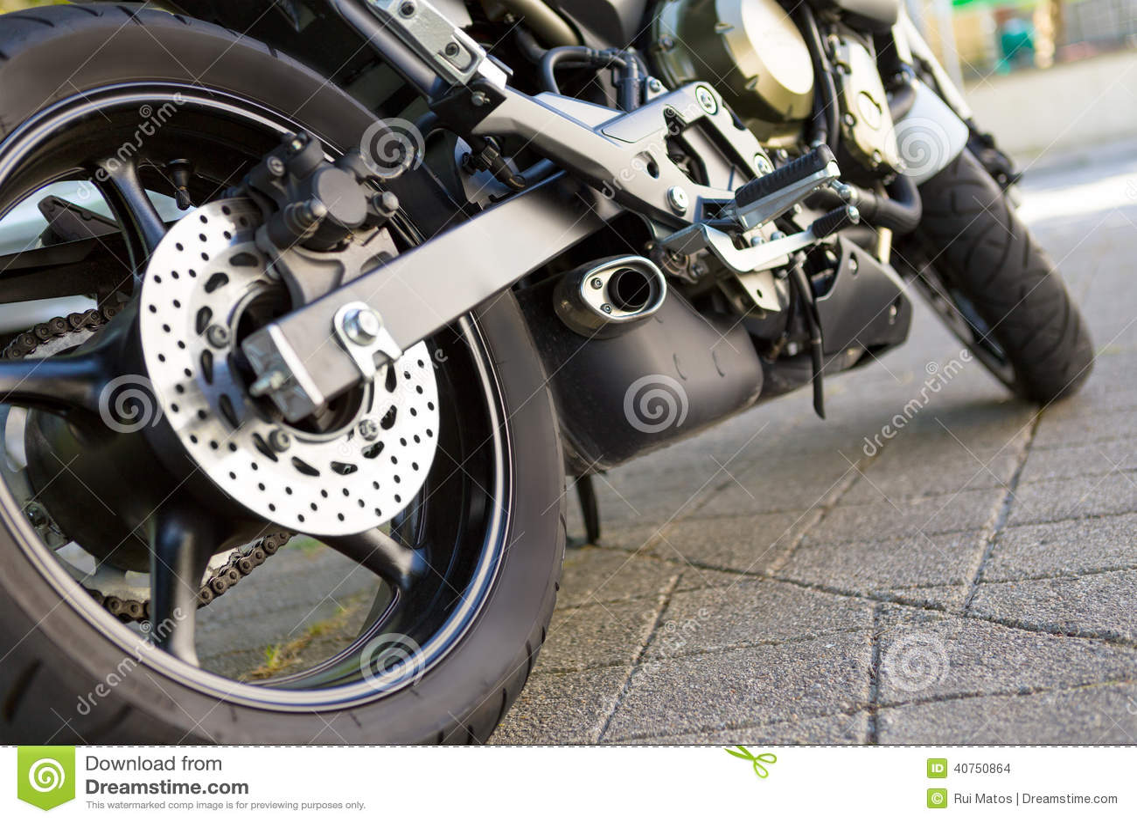 Download Motorcycle stock photo. Image of mechanical, engine, mechanics - 40750864