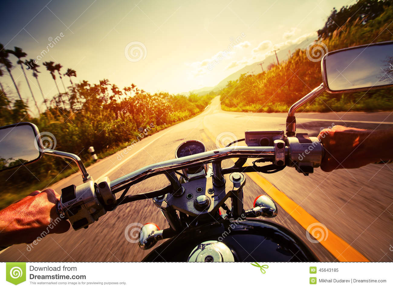 Download Motorcycle stock image. Image of ride, holding, rider - 45643185