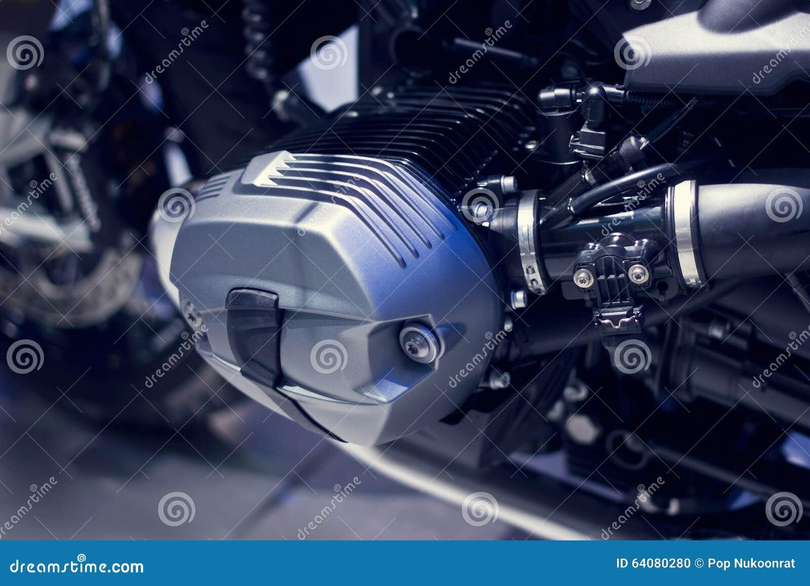Motorcycle Engine Close Up On Dark Background Stock Photo Image Of Download Bike