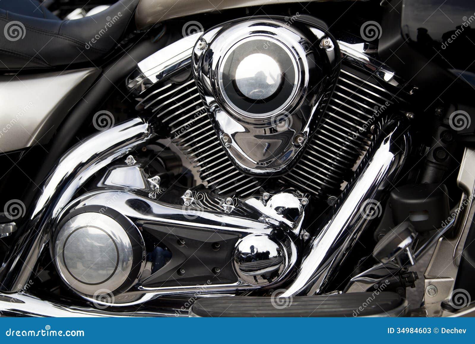 Motorcycle Engine Motor Stock Photos Image 34984603