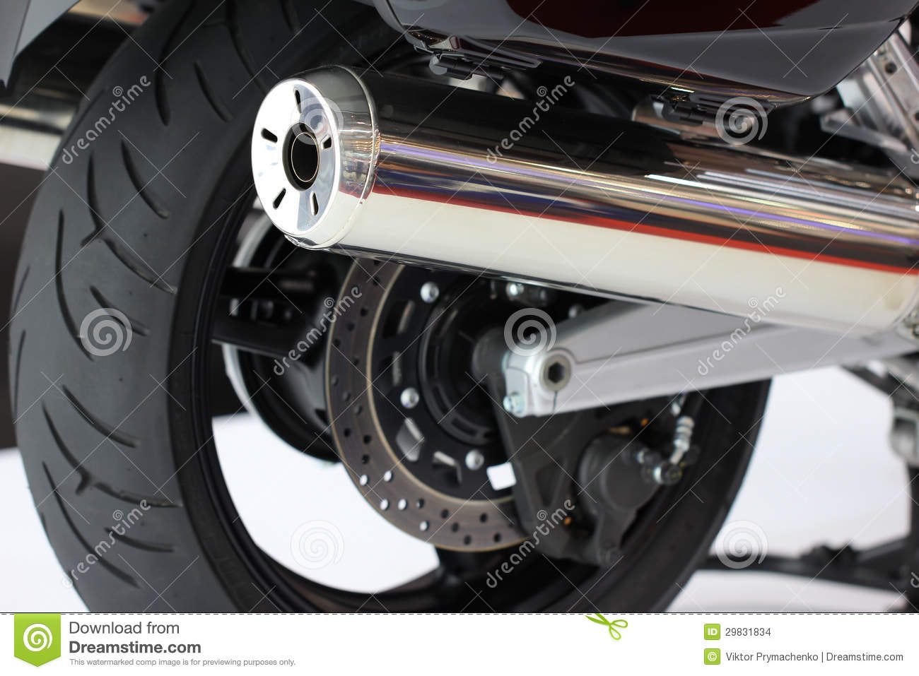 how to clean motorcycle exhaust