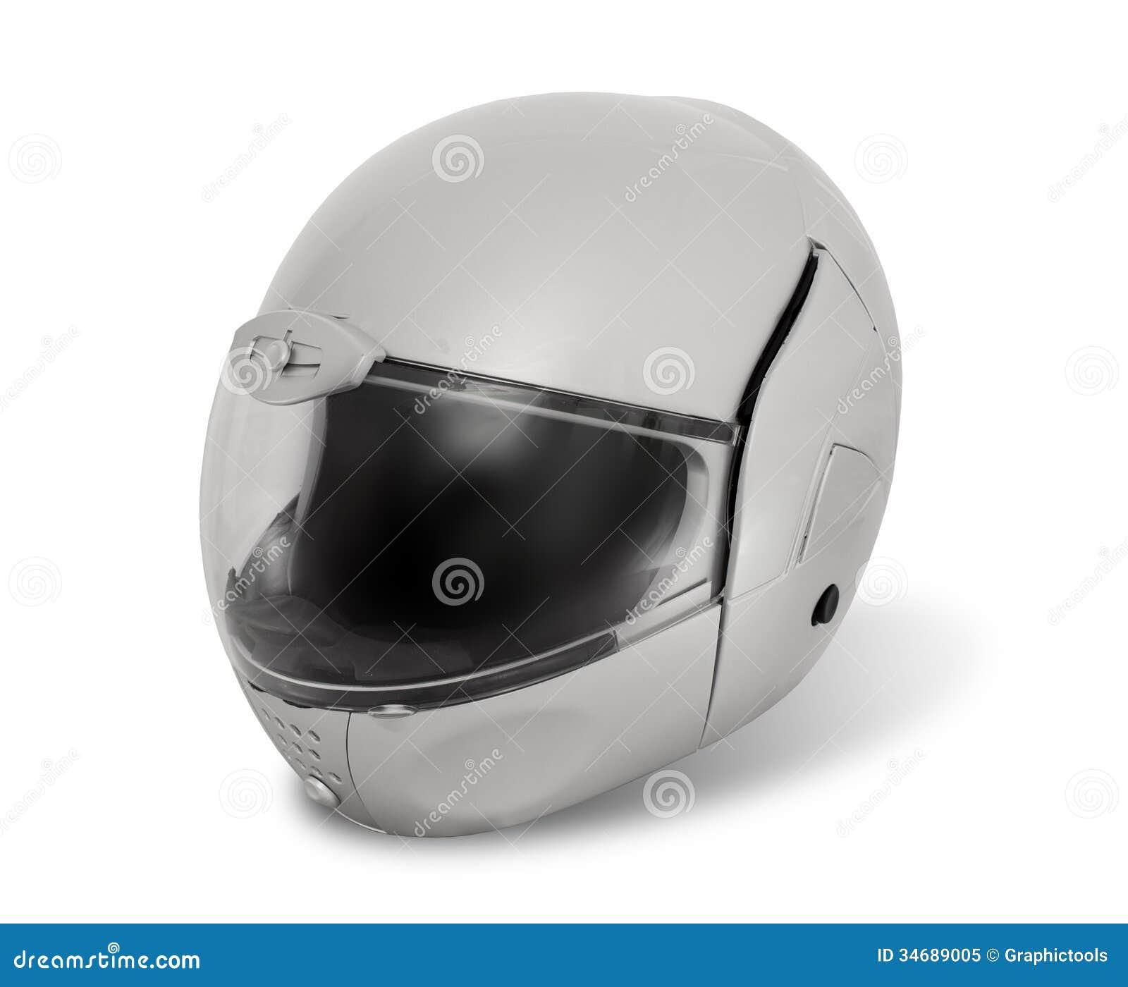 White Motorcycle Helmets - Viewing Gallery Motorcycle