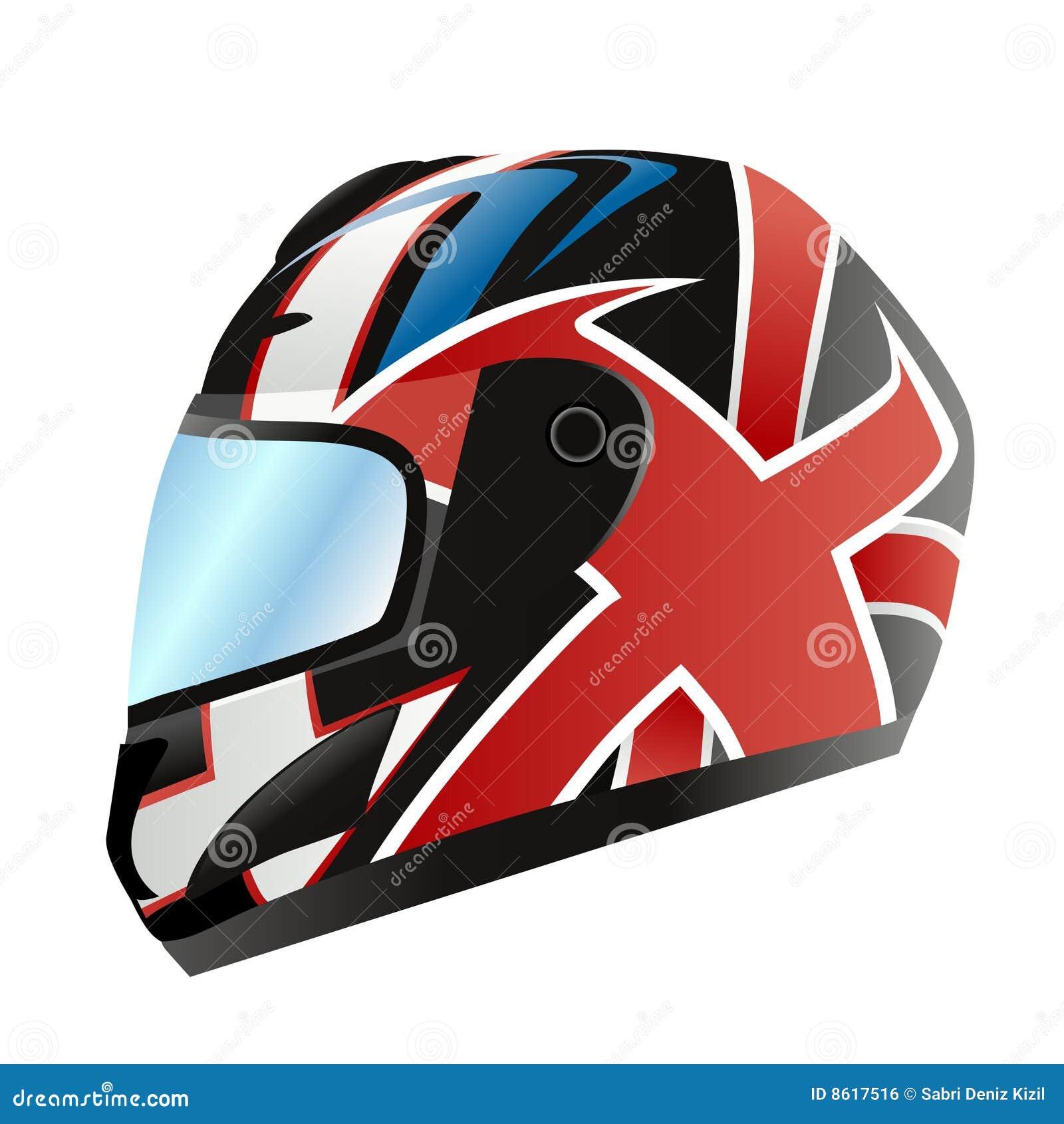 Motorcycle Helmet Vector Royalty Free Stock Image Image