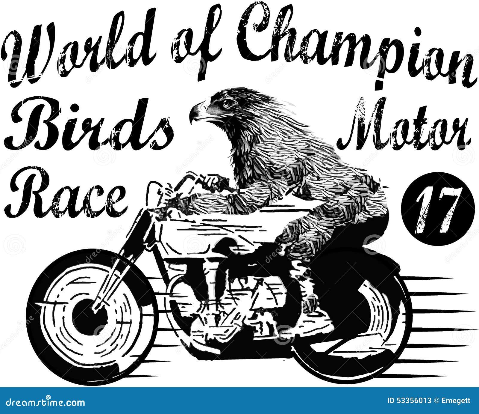 f750c8b828b3 Motorcycle Label T-shirt Design With Illustration Of Custom Chop ...