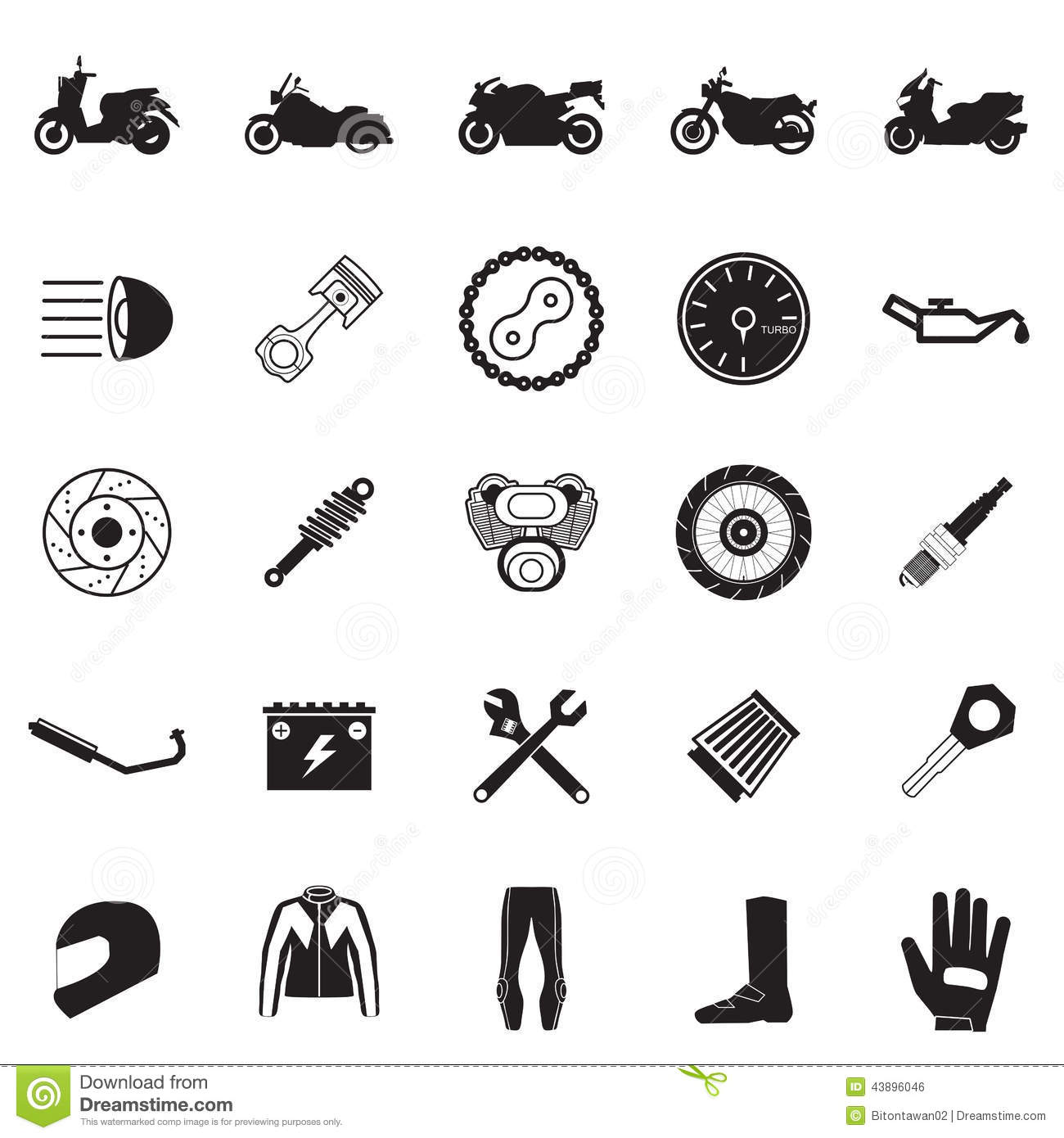 Motorcycle Part And It...