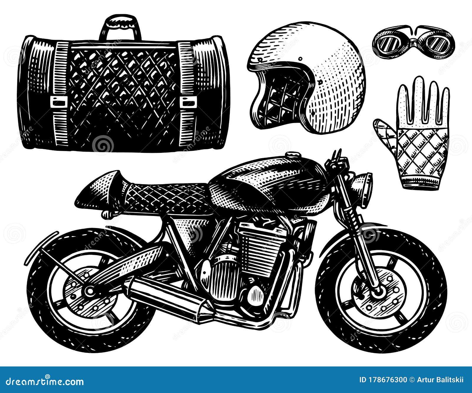 Helmet Bike Motor Stock Illustrations 7 366 Helmet Bike Motor Stock Illustrations Vectors Clipart Dreamstime