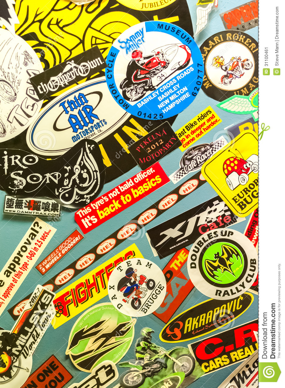 motorcycle stickers editorial photo image 31100461 motorcycle stickers editorial photo
