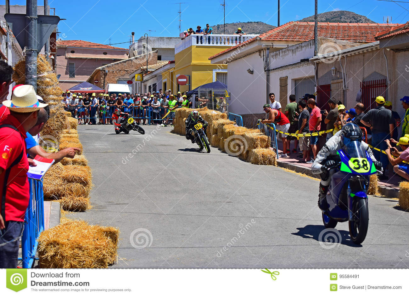 Motorcycle Street Race