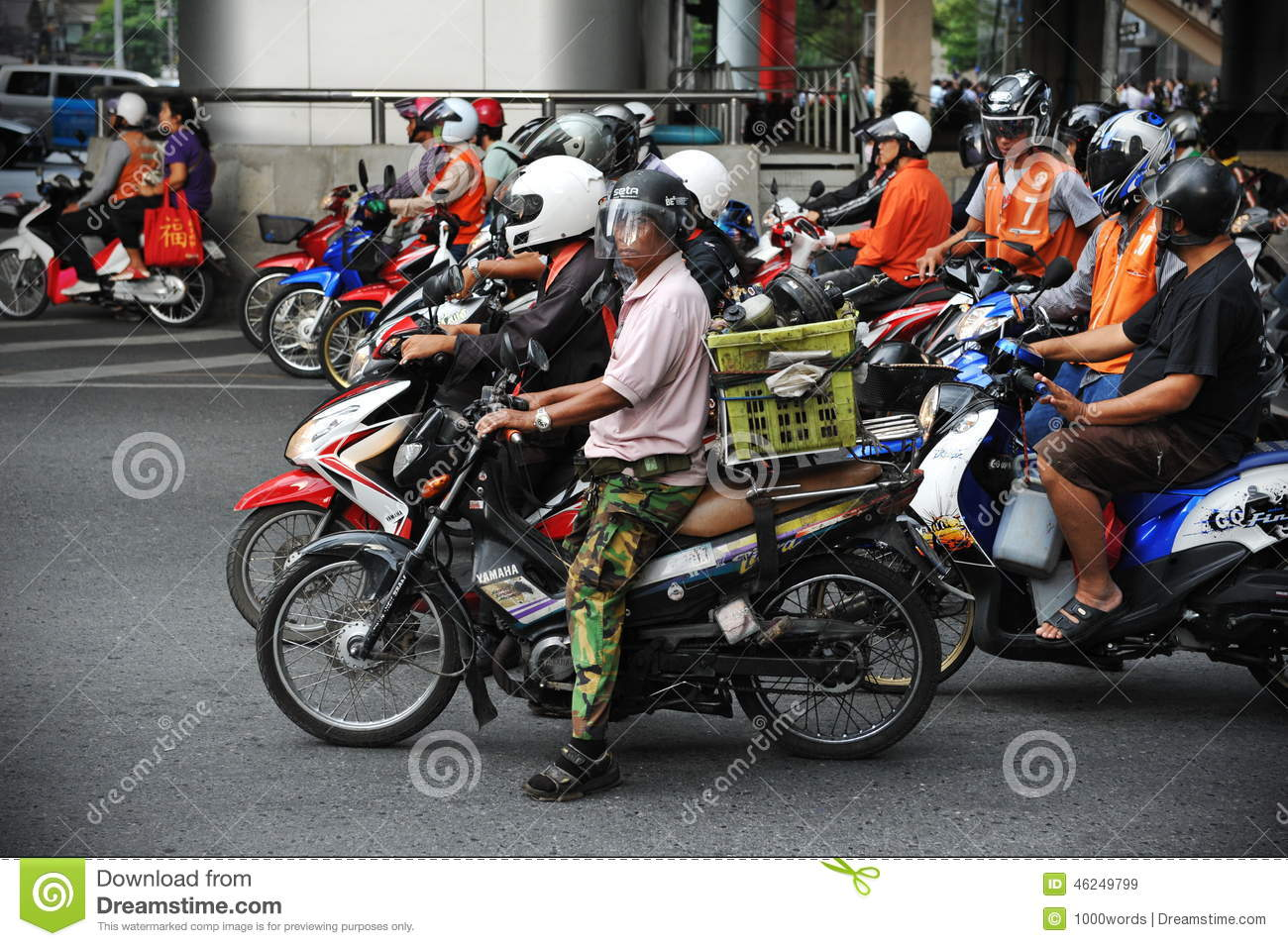 Motorcyclists at a Junction