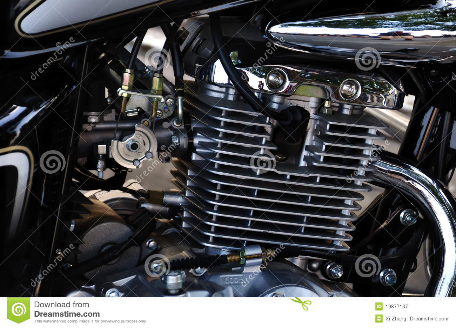 Motorcykelmotor