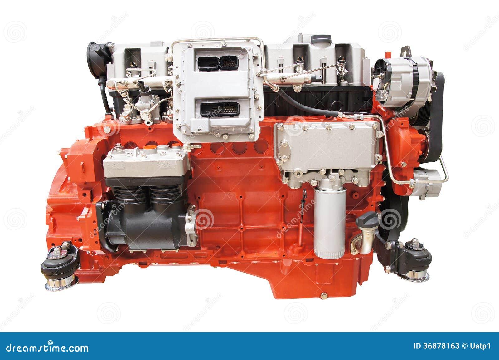 Download Motore immagine stock. Immagine di potenza, ingegneria - 36878163