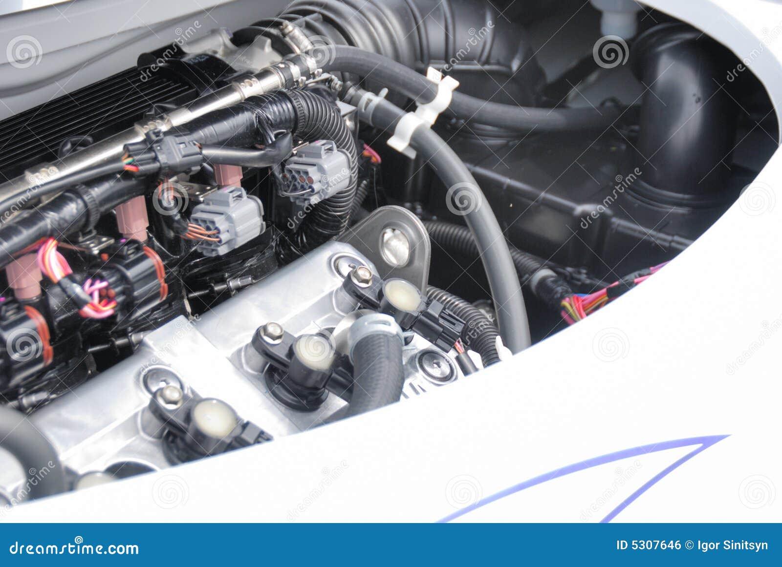 Download Motore fotografia stock. Immagine di precisione, japan - 5307646