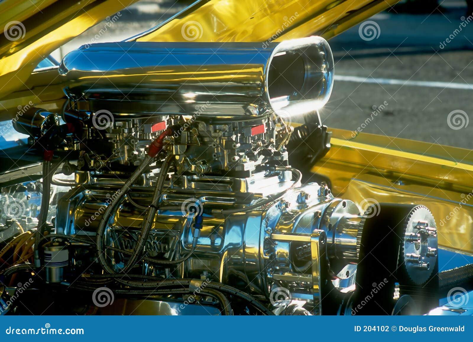 Motore cromato