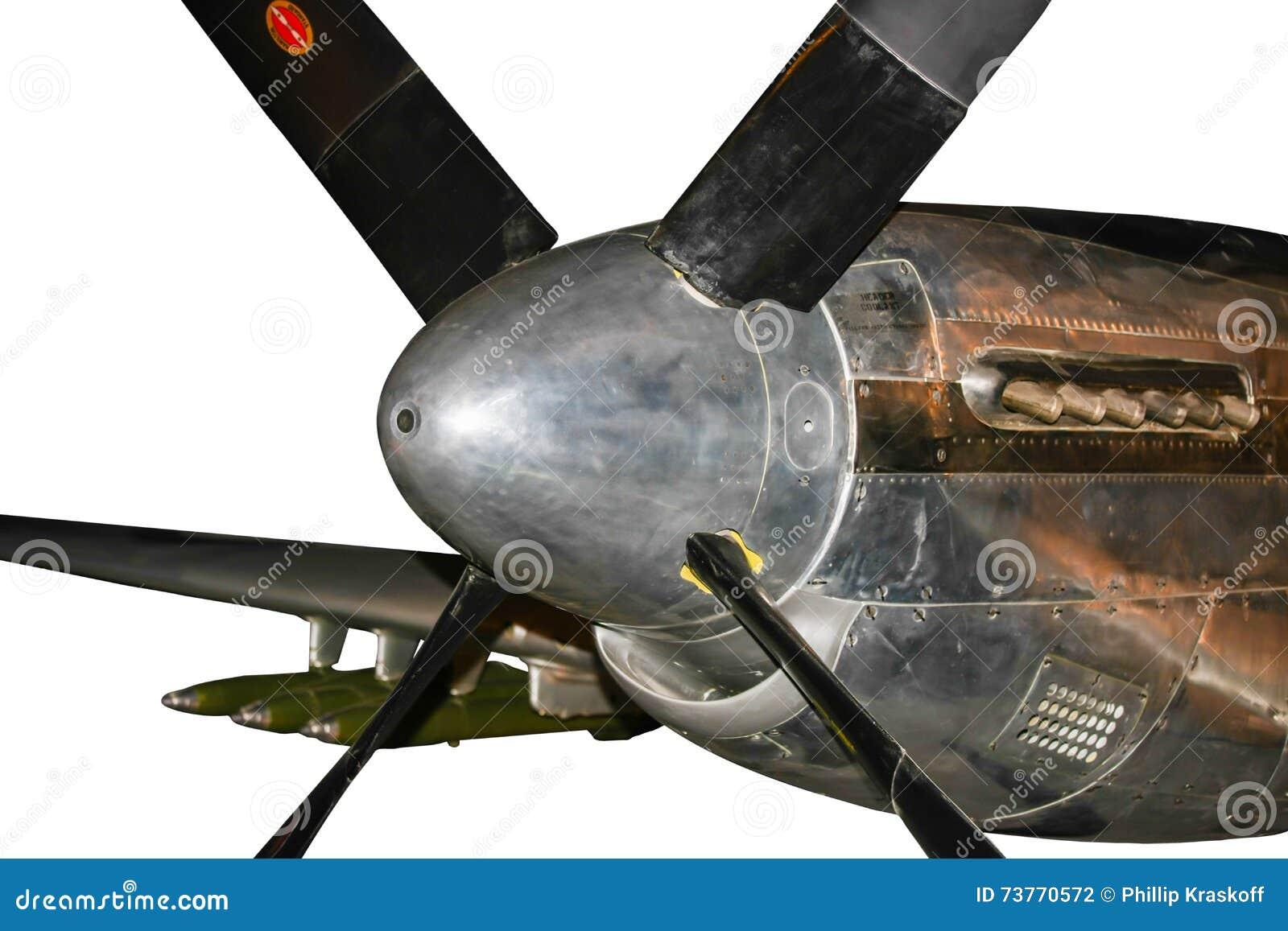 Aereo Da Caccia Americano : Motore di aereo da caccia americano della seconda guerra