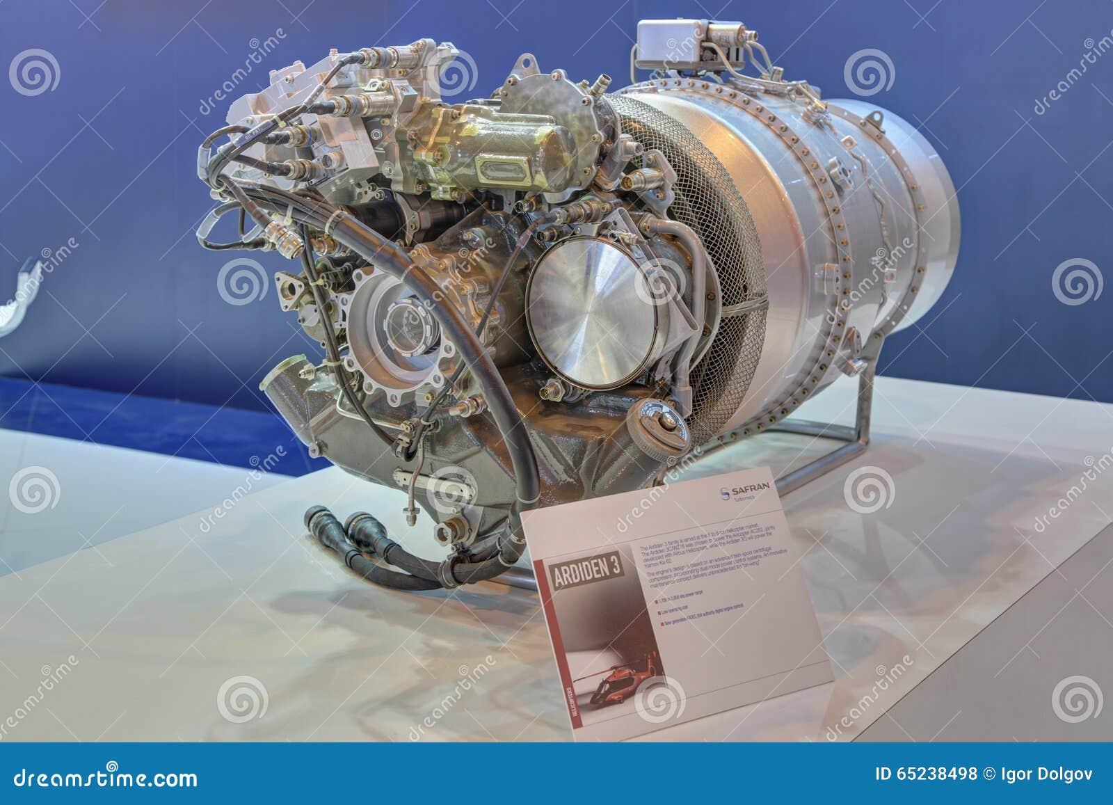 Elicottero A Reazione : Motore di albero trasmissione a reazione per l