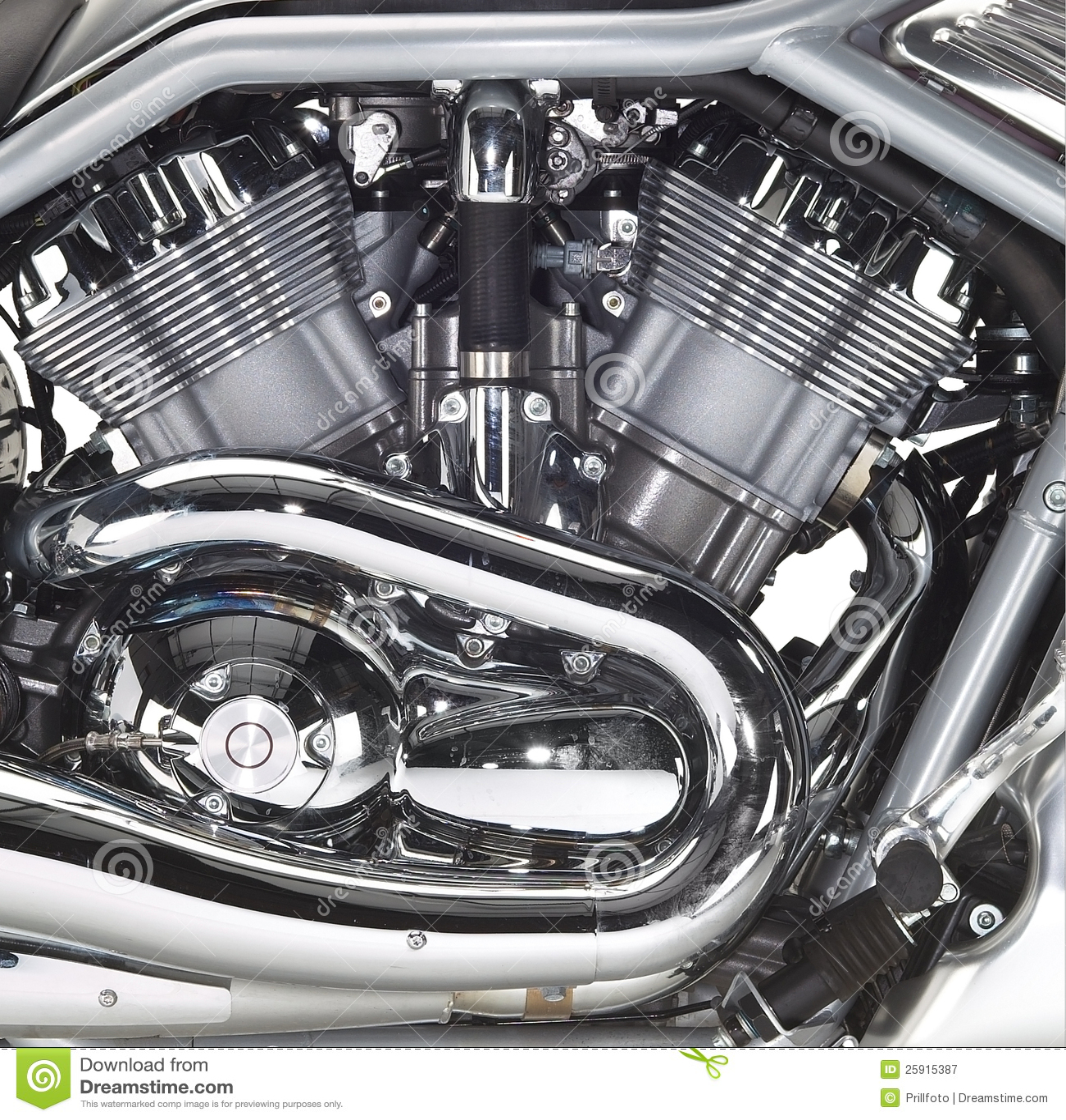 Motore di una motocicletta