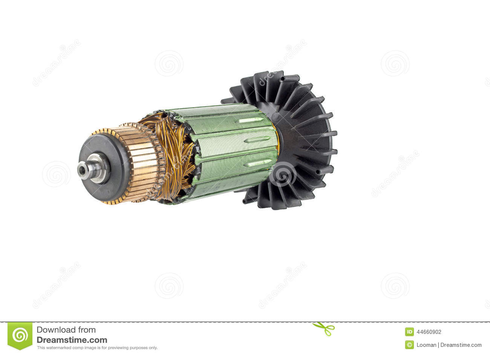 Motore elettrico del rotore