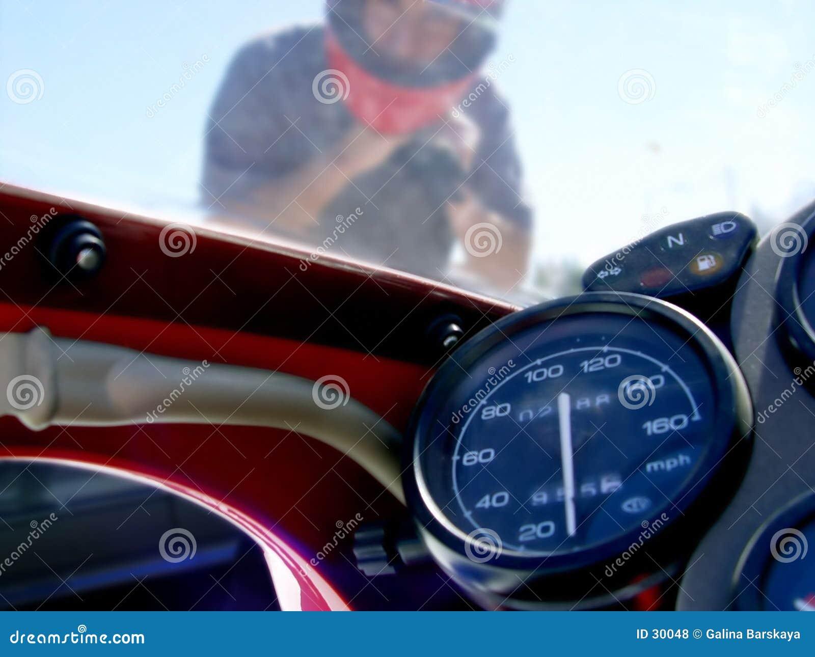 Download Motorista 1 foto de archivo. Imagen de peligro, competitivo - 30048