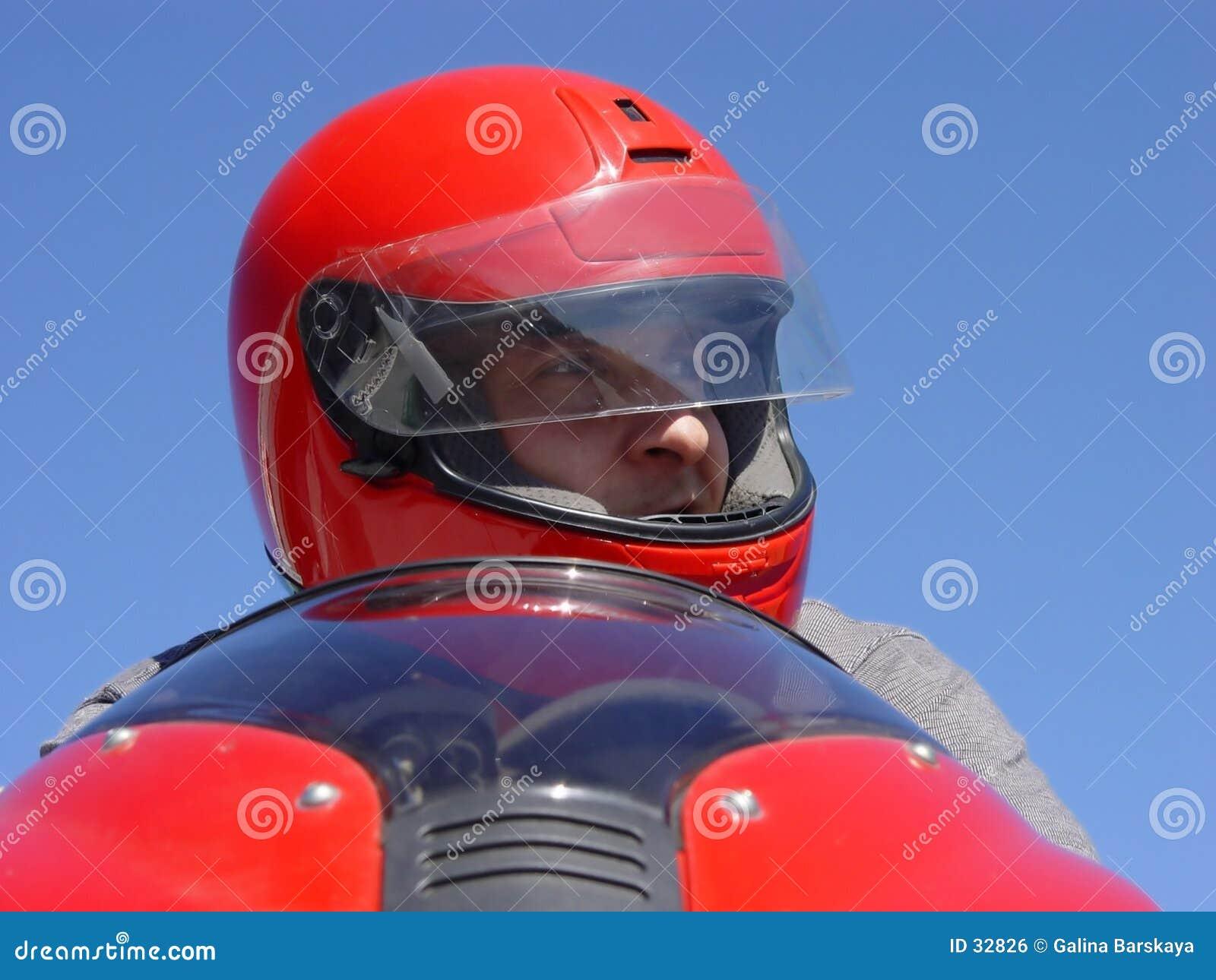 Download Motorista foto de archivo. Imagen de peligro, diversión - 32826