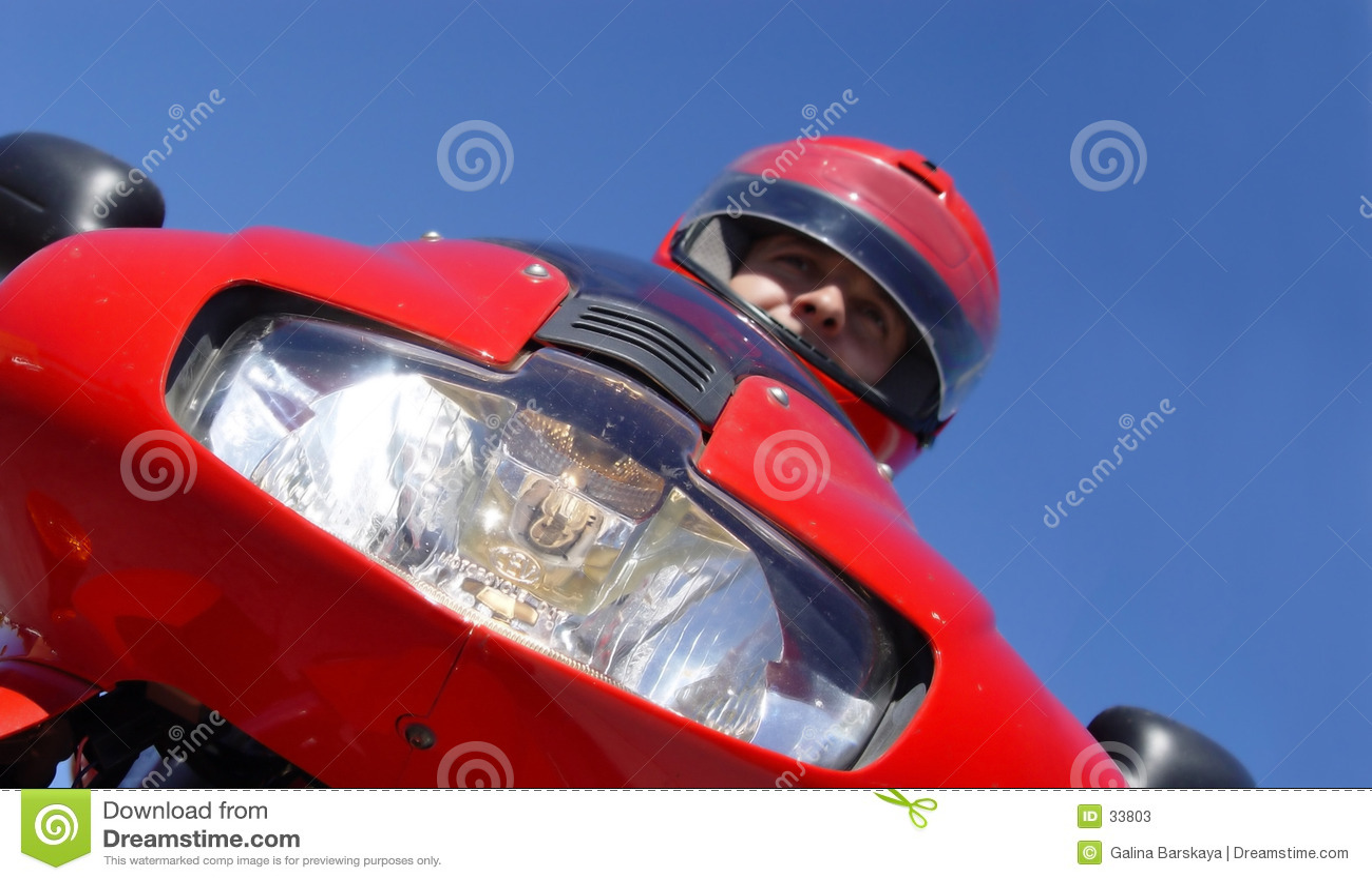 Download Motorista imagen de archivo. Imagen de bici, muchacho, gente - 33803