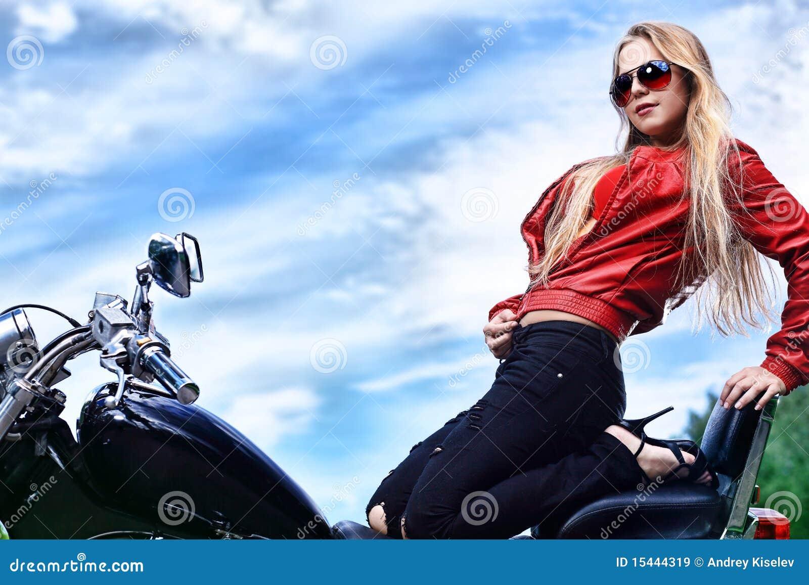 Motorista atractivo