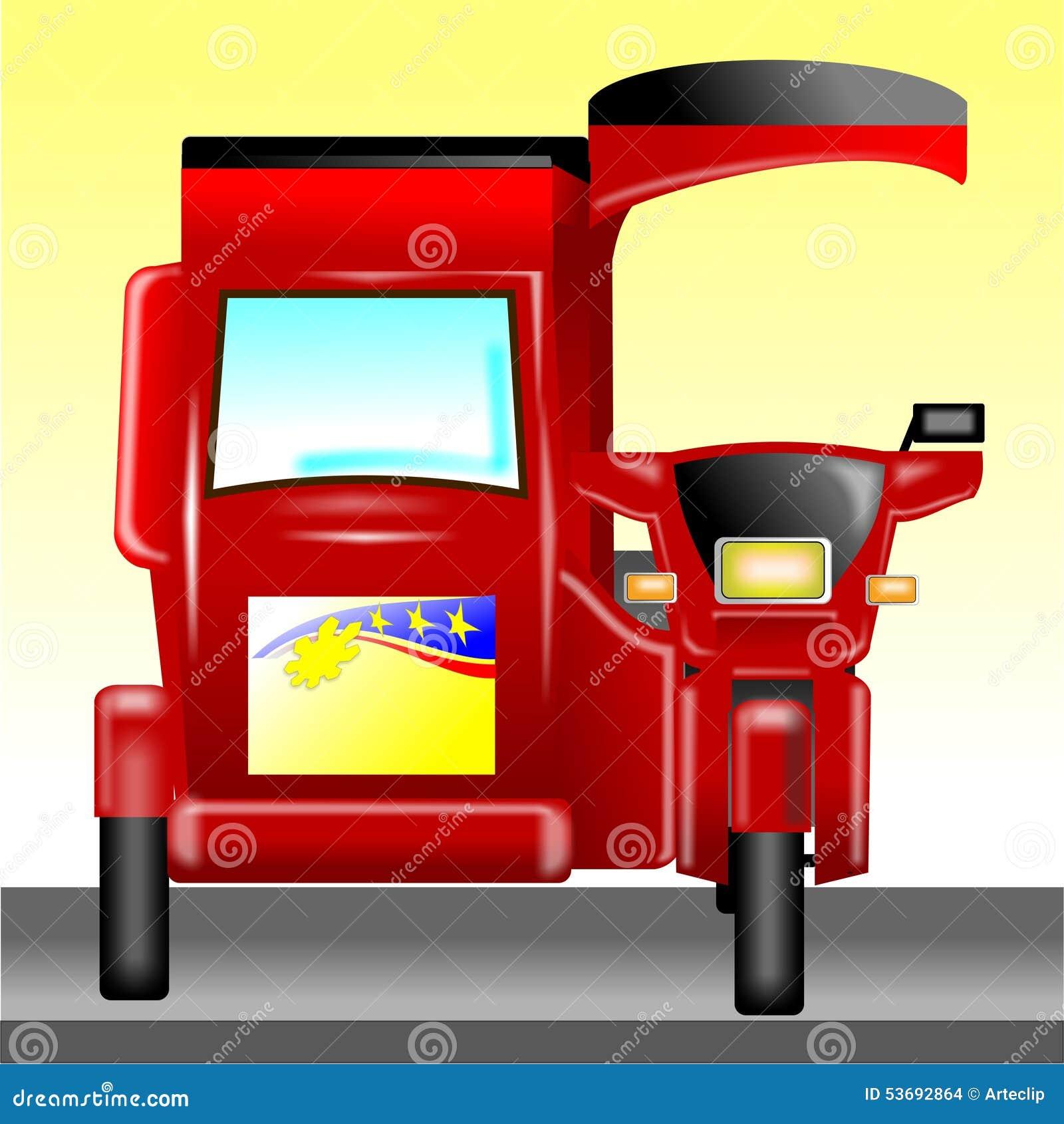 motorized tricycle philippines stock photo image 53692864